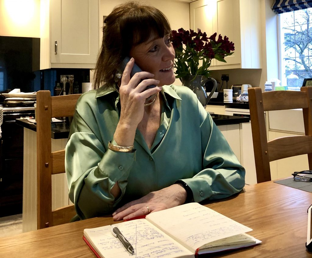 Christine at WiSE makes regular calls to isolated older people